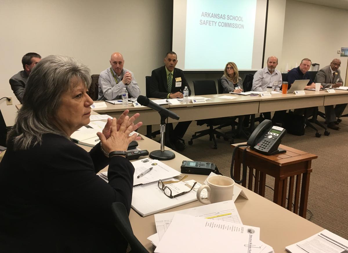 ArkansasSchool Safety Commission Meets With State Fire Marshal