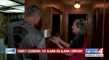 Elderly Oklahoman agrees to second contract for service she already …