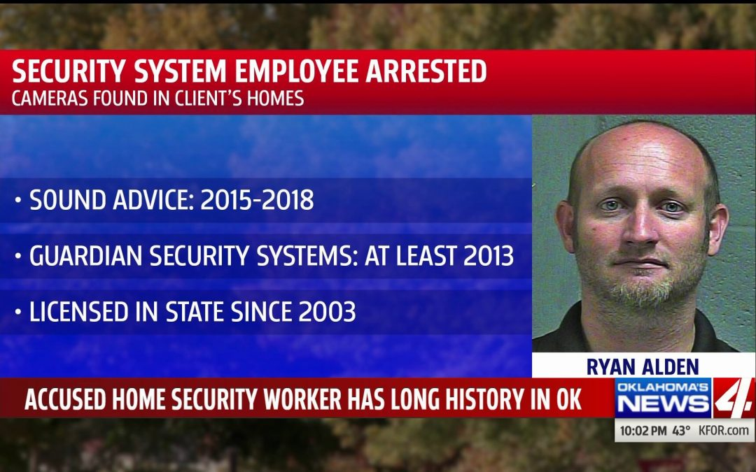 Security system tech, arrested for placing hidden cameras in 2 metro …