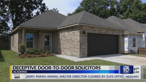 Deceptive door-to-door solicitor targets Lafayette woman, credit score drops